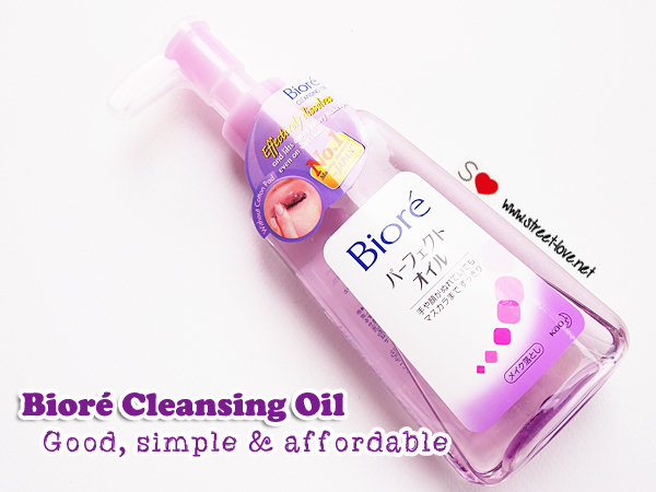 Review: Bioré Cleansing Oil; The Good, Simple & Affordable Makeup Remover | Street Love