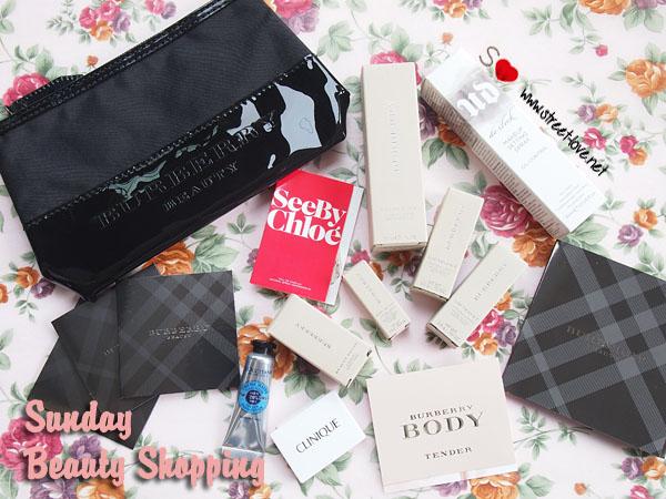 Sunday Beauty Shopping1
