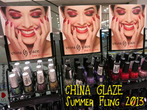 China Glaze Summer Fling 2013 Exclusive Showcase