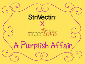 "StriVectin X Street Love ""A Purplish Affair"" Tea Party Invitation"