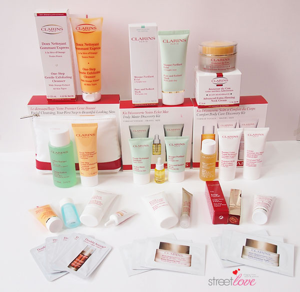 Clarins September 2013 Haul1