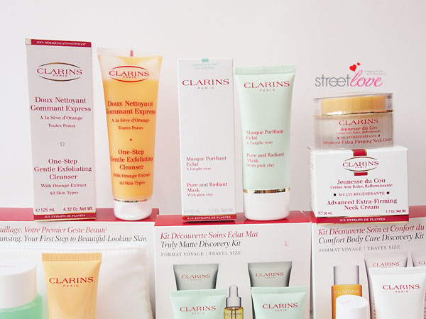 Clarins September 2013 Haul2