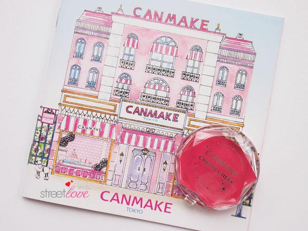Canmake Cream Cheek1