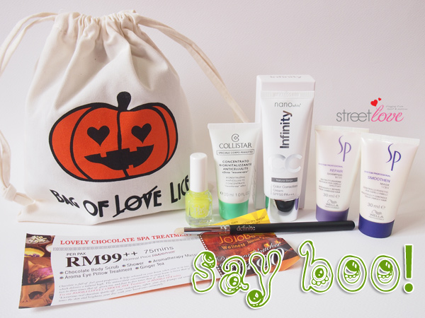 Bag Of Love Say Boo 1