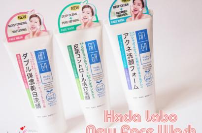 Hada Labo New Face Wash 1