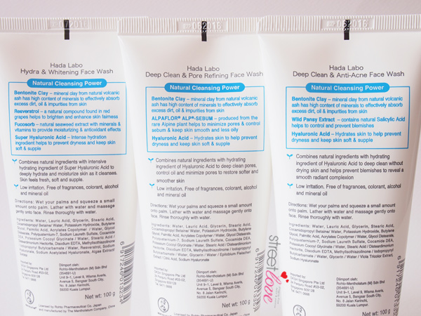 Hada Labo New Face Wash 5