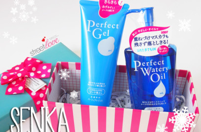 SENKA Perfect Gel and Perfect Watery Oil