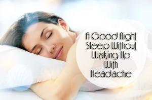 Tips For A Good Night Sleep 1