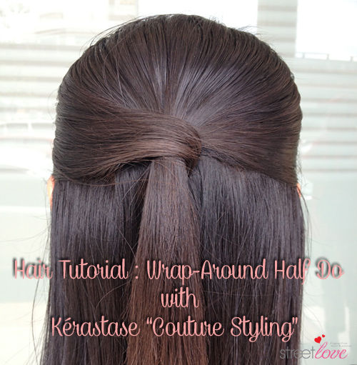 Hair Tutorial Kerastase Couture Styling 1