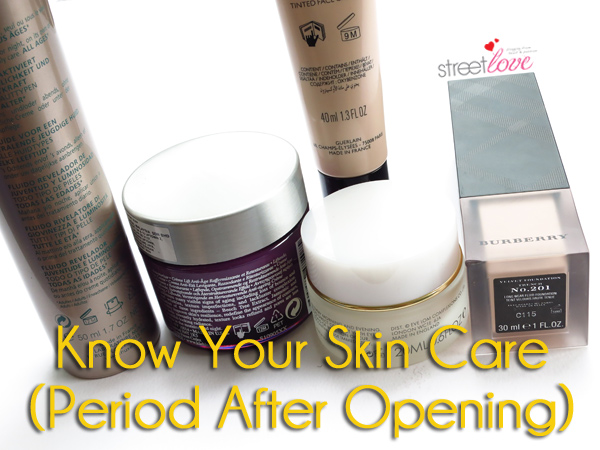 Know Your Skin Care Period After Opening 1