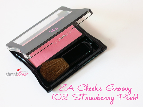 ZA Cheeks Groovy 02 Strawberry Pink 1