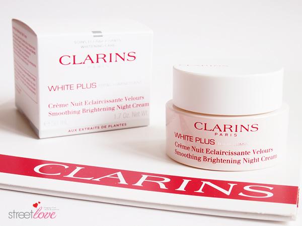Clarins White Plus Total Luminescent Smoothing Brightening Night Cream 1