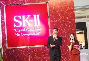 SK-II Brand Ambassador Godfrey Gao unveil Crystal Clear Skin No Compromise Event 1