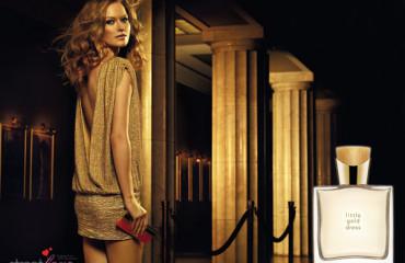 AVON Little Gold Dress 1