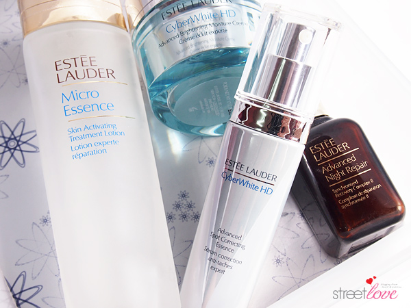 Estee-Lauder CyberWhite HD Advanced Spot Correcting Essence 1