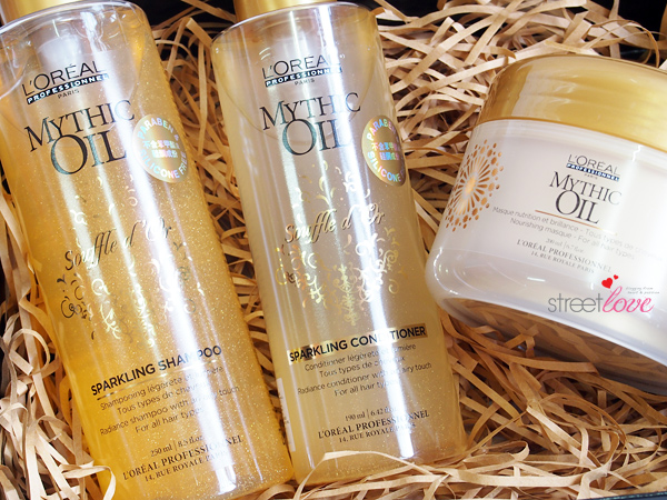 L'Oreal Professionnel Mythic Oil Range Giveaway 2