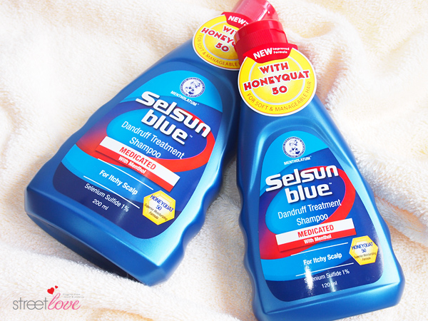 Selsun Blue Medicated Dandruff Treatment Shampoo 1
