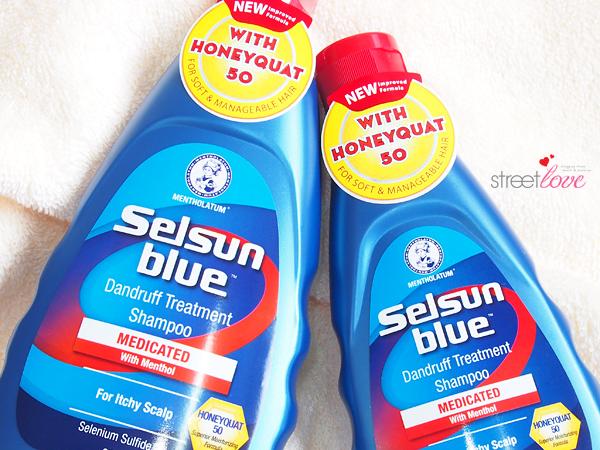 Selsun Blue Medicated Dandruff Treatment Shampoo 3