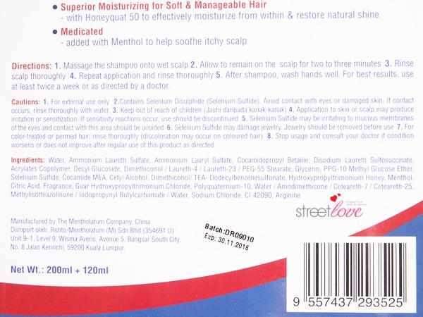 Selsun Blue Medicated Dandruff Treatment Shampoo 5