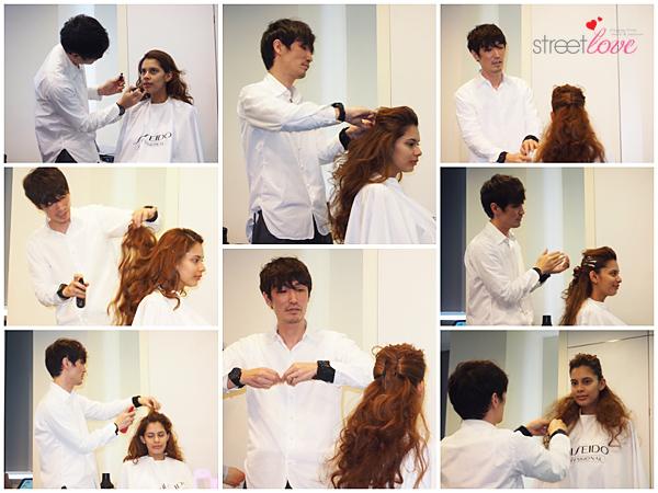 Shiseido Professional Color Me Knot 3