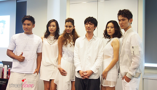 Shiseido Professional Color Me Knot 6