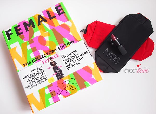 Female Magazine Singapore April 2014 X NARS 1