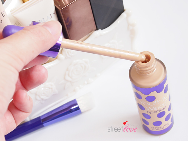 Physicians Formula Youthful Wear Spotless Foundation & Brush Precision Dropper