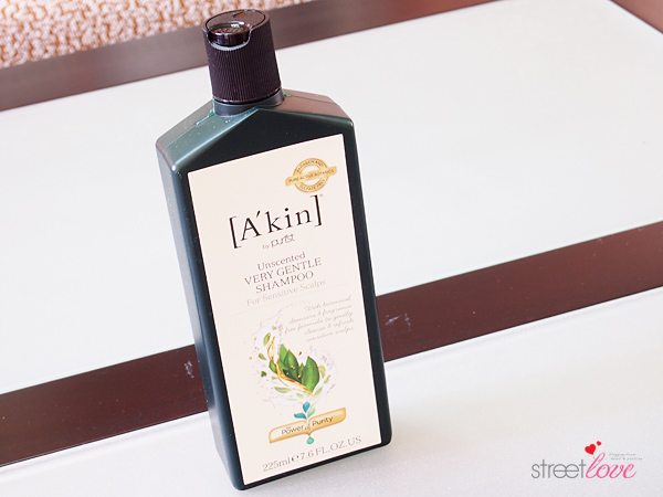 A'kin Unscented Very Gentle Shampoo