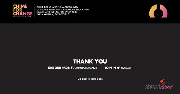 Gucci Chime For Change Donation Code 9