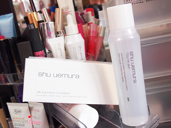 Shu Uemura TSUYA Skin Youthful Crystal-Transparency Lotion and Silk Supreme Crystallizer