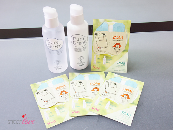 Yadah Pure Green Sample Kit Redemption