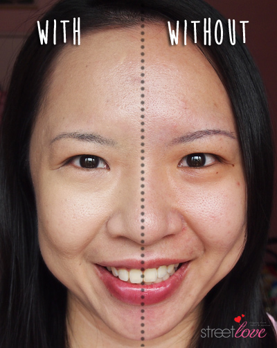 Shu Uemura The Lightbulb Oleo-Pact Foundation With and Without