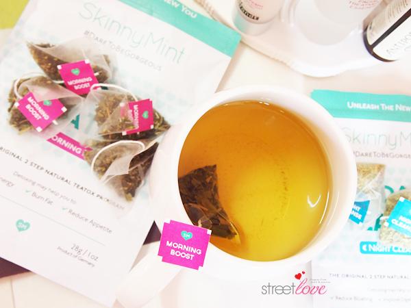 SkinnyMint 14 Day Teatox Infused Tea