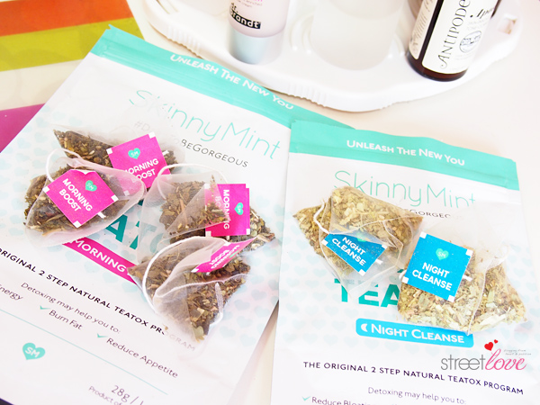 SkinnyMint 14 Day Teatox Tea Bags