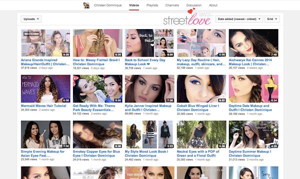 YouTube Favourite 11 Christen Dominique