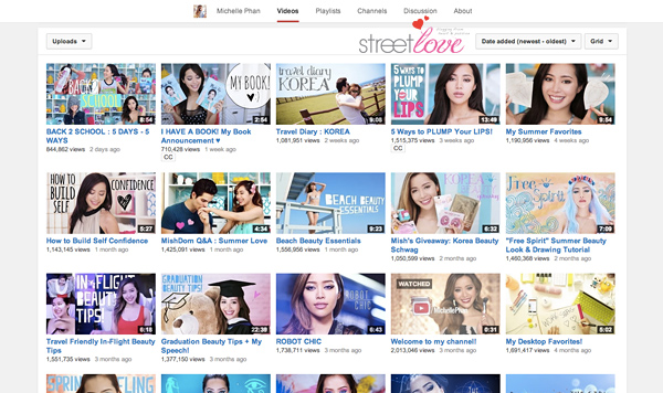 YouTube Favourite 16 Michelle Phan
