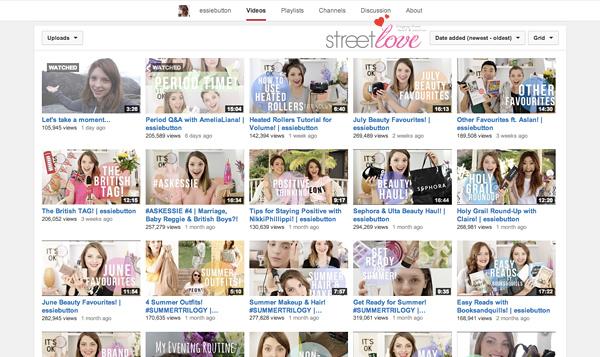 YouTube Favourite 17 Essiebutton