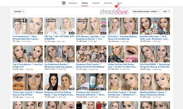 YouTube Favourite 2 Shaaanxo