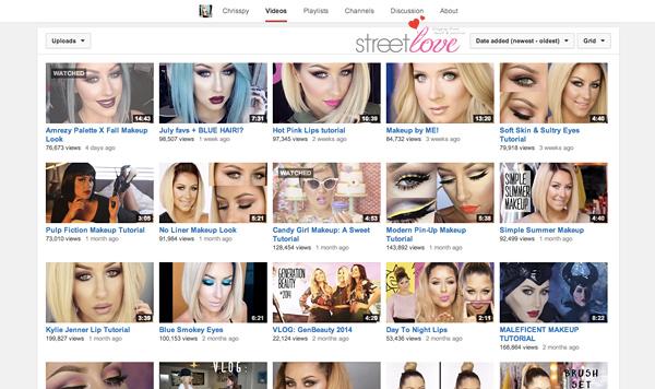 YouTube Favourite 4 Chrisspy