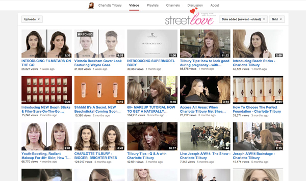 YouTube Favourite 6 Charlotte Tilbury