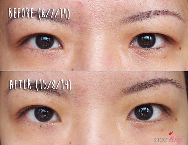 Clarins Extra-Firming Eye Complete Rejuvenating Cream Before and After 2
