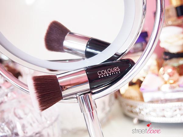 Colours Cosmetics Malaysia Flat Top Foundation Brush