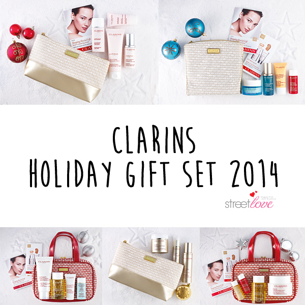 Clarins Holiday Gift Set 2014