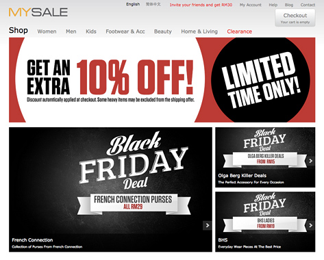 Mysale Black Friday Sale 2014