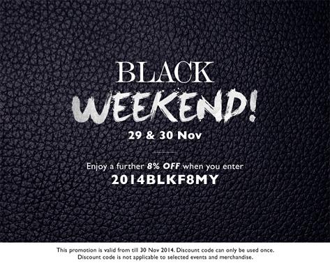 Reebonz Black Friday Sale 2014