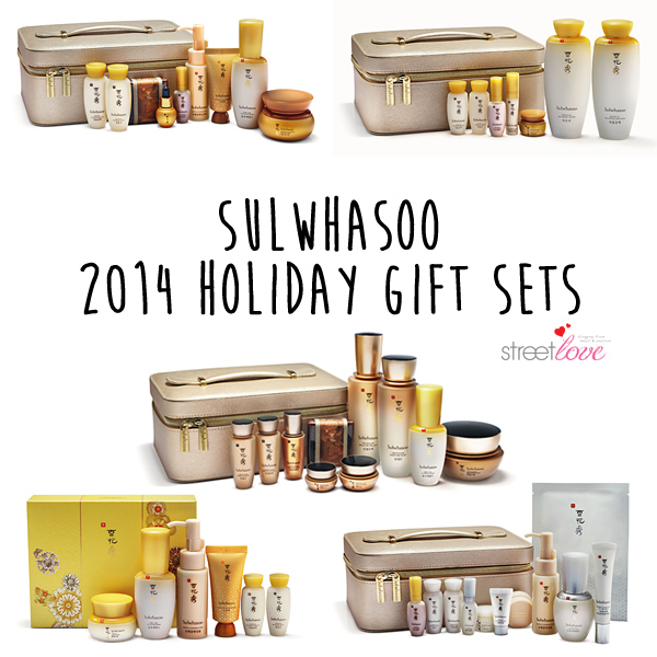 Sulwhasoo 2014 Holiday Gift Sets