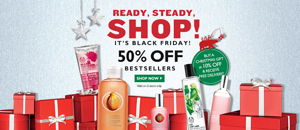 The Body Shop Black Friday Sale 2014