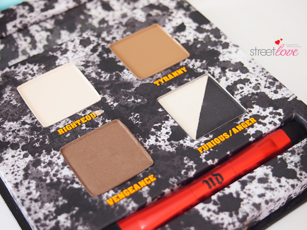 Urban Decay Pulp Fiction Eyeshadow Palette Closeup 1