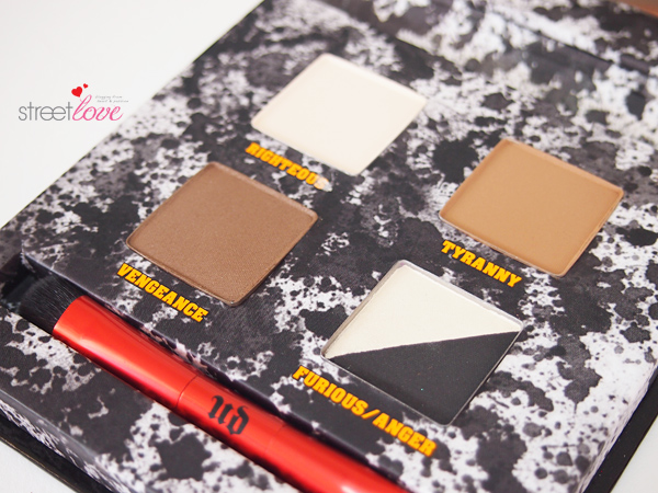 Urban Decay Pulp Fiction Eyeshadow Palette Closeup 2