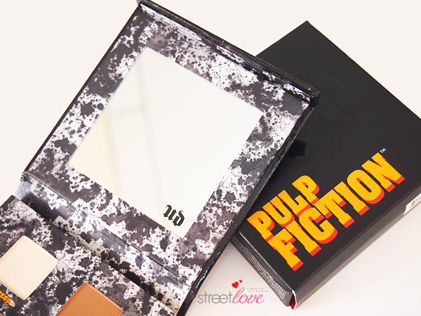 Urban Decay Pulp Fiction Eyeshadow Palette Mirror